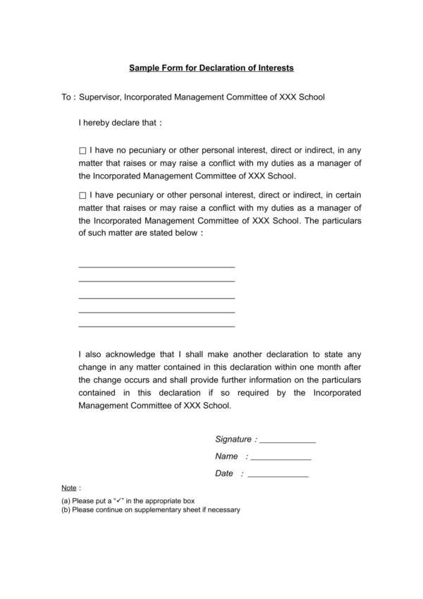 12+ Declaration Statement Samples and Templates in PDF | Word on declaration form template, declaration document template, california declaration template, written declaration template, declaration letter background, declaration of income letter, declaration of support letter sample, declaration letter self-employed, declaration statement letter, declaration letter unemployment,