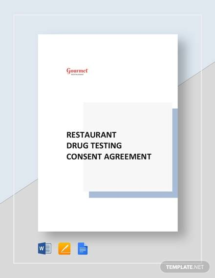 17+ Drug Testing Consent Agreement Samples and Templates - PDF, Word