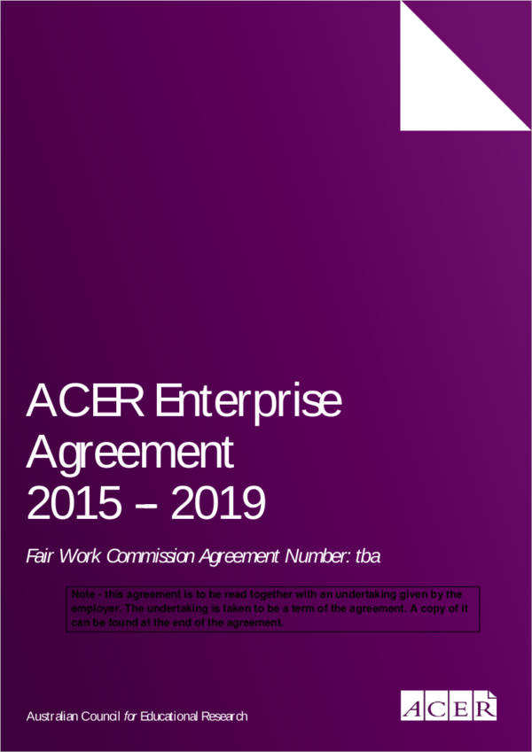 approved enterprise agreement example