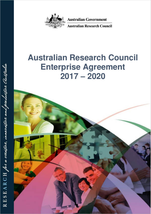 australian research council enterprise agreement