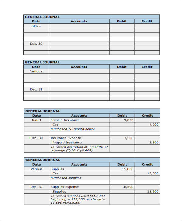 basic accounting rules with examples pdf