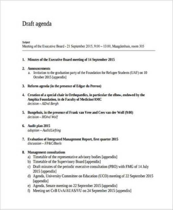 basic graduation party agenda