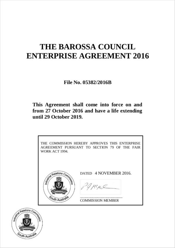 council enterprise agreement