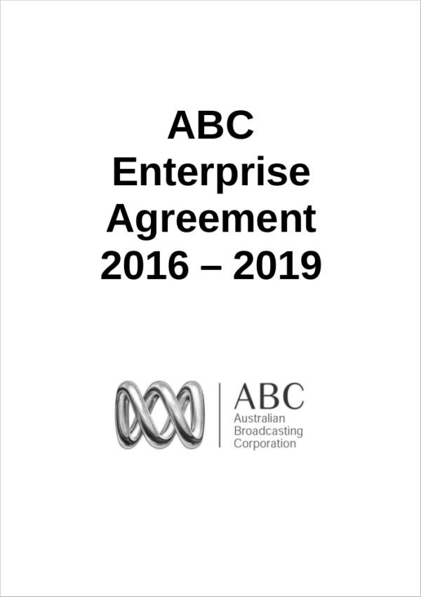 example enterprise agreement