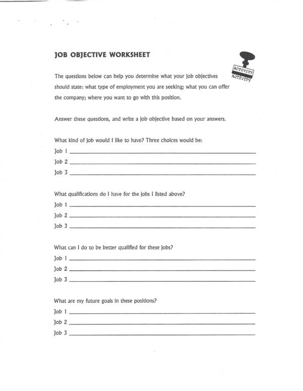 job interview worksheets 03