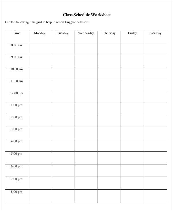 kindergarten class worksheet