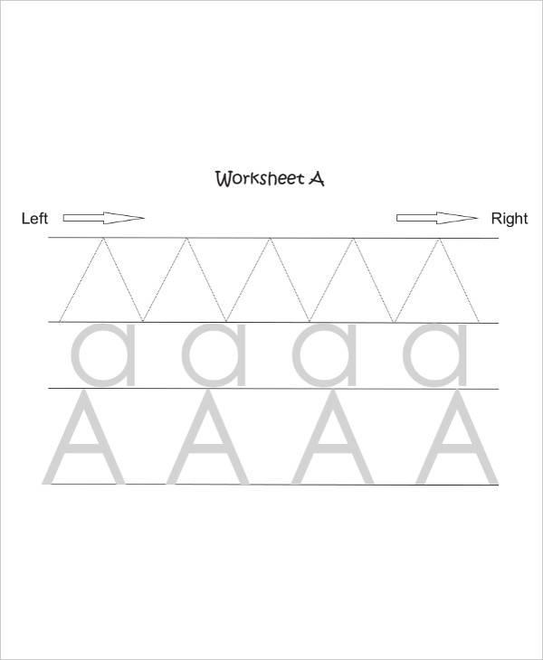 kindergarten writing worksheet