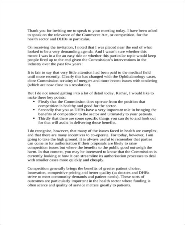 Thank You Letter Career Fair from images.sampletemplates.com