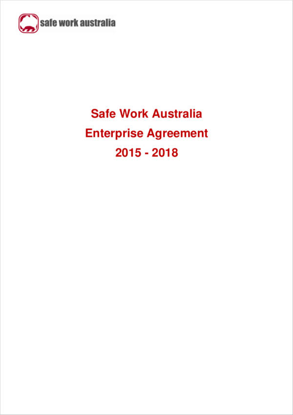 safe work australia enterprise agreement