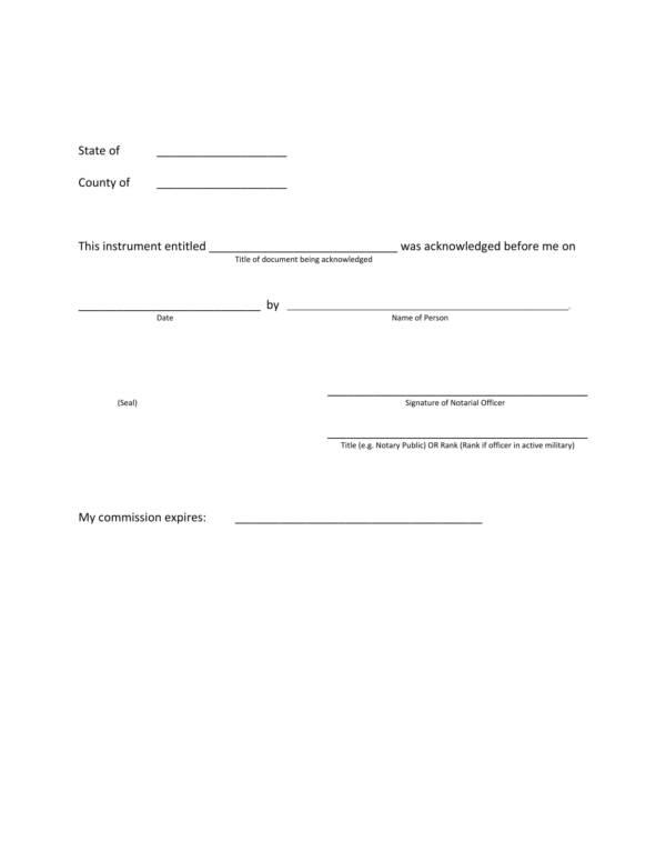 sample notarial certificates 2
