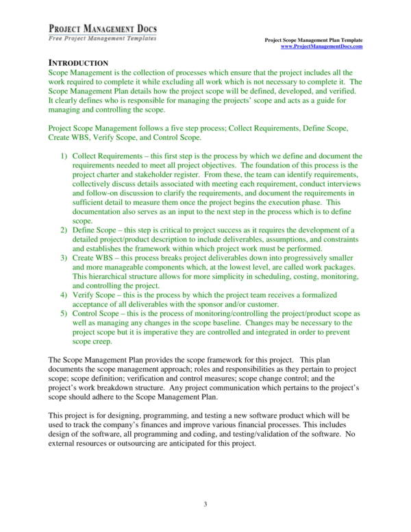 scope management plan templates 03