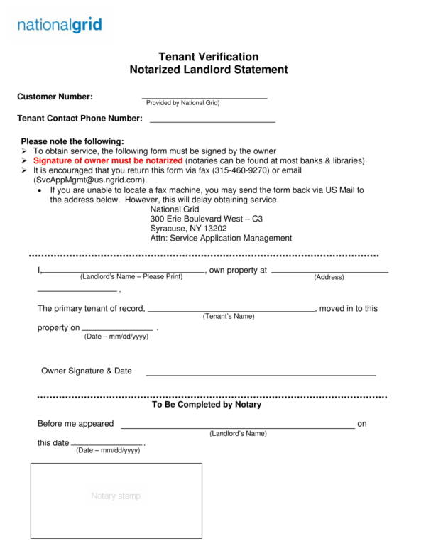 Free 18 Landlord Statement Templates In Pdf