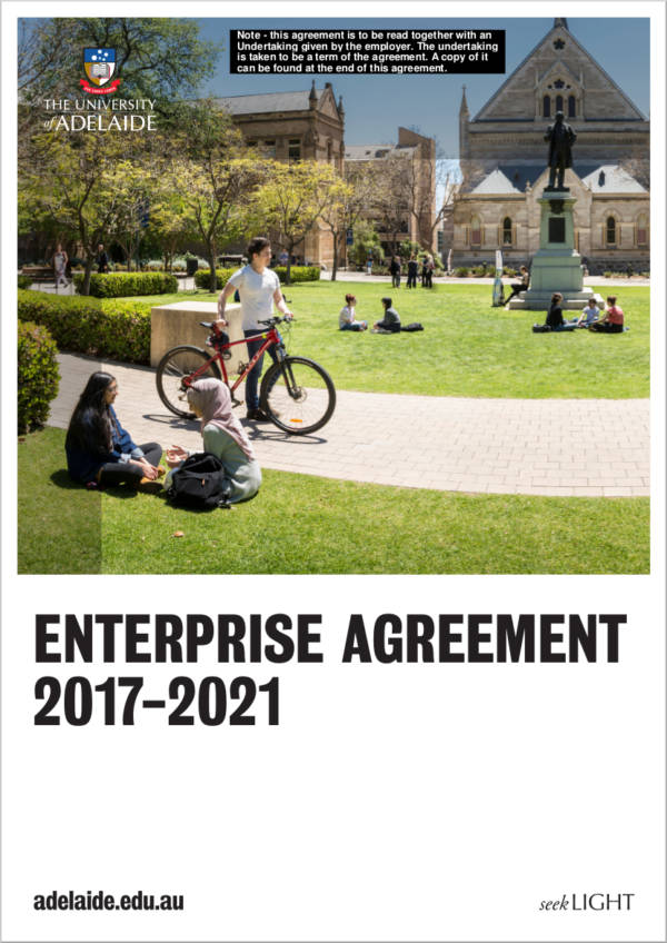 university enterprise agreement
