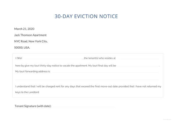 43 eviction notice templates pdf doc apple pages sample templates 30 day eviction notice template altavistaventures Gallery