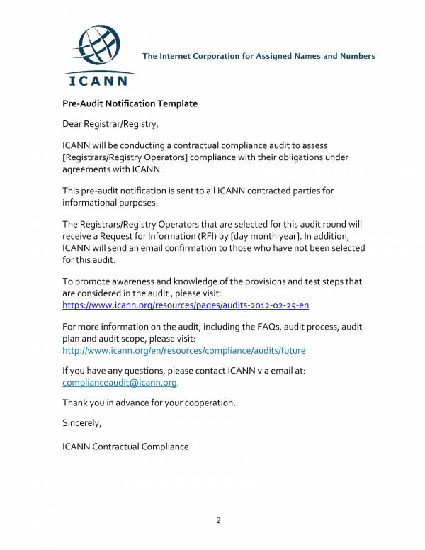 contractual compliance audit report templates 02