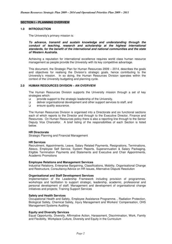 hr strategic and operational priorities plan 03