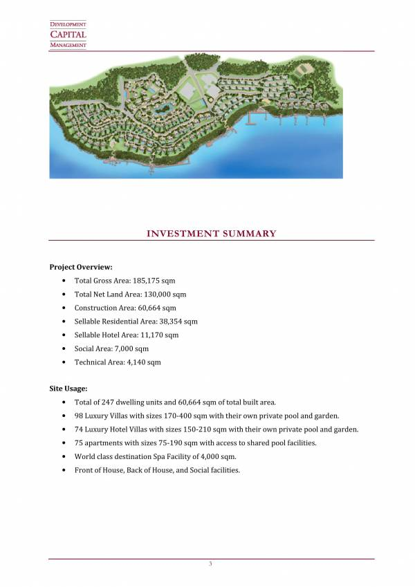 luxury villa investment proposal sample 03