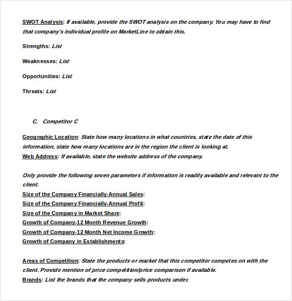 9 Restaurant Swot Analysis Samples And Templates PDF Word
