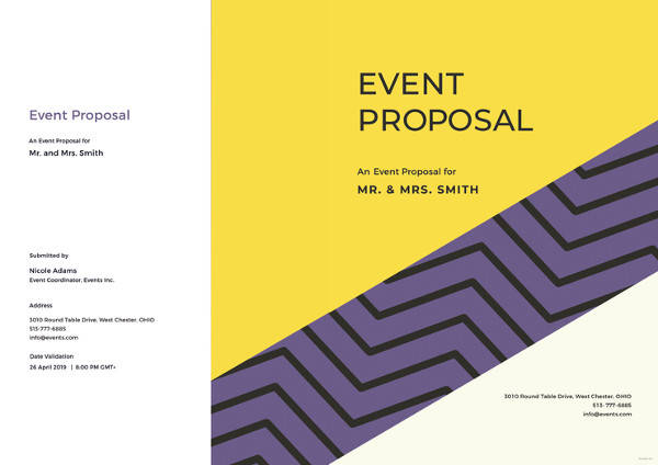 25 Sample Event Proposal Templates Psd Pdf Word Apple Pages