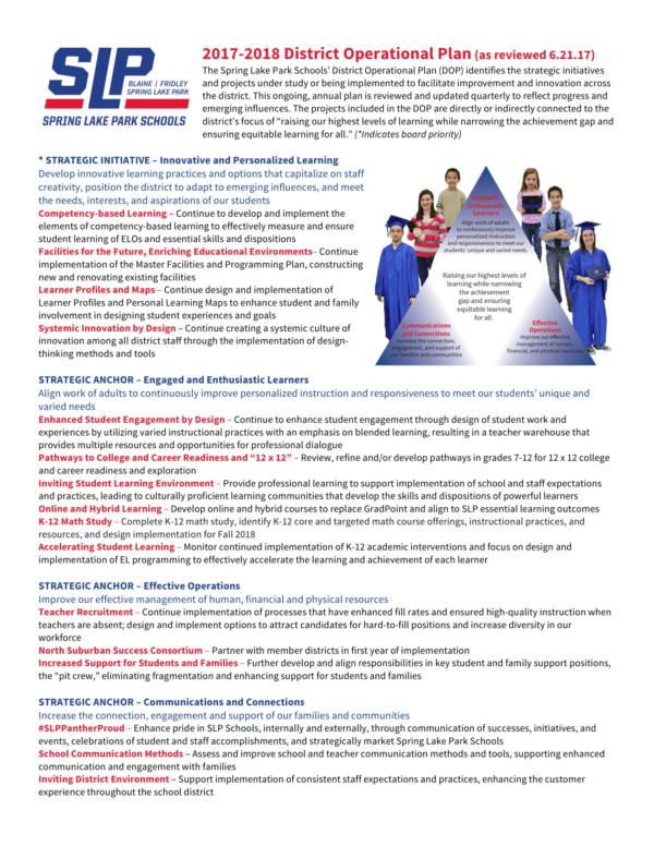 school district operational plan 03