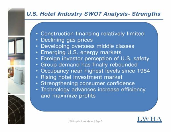 hotel industry swot analysis sample 06