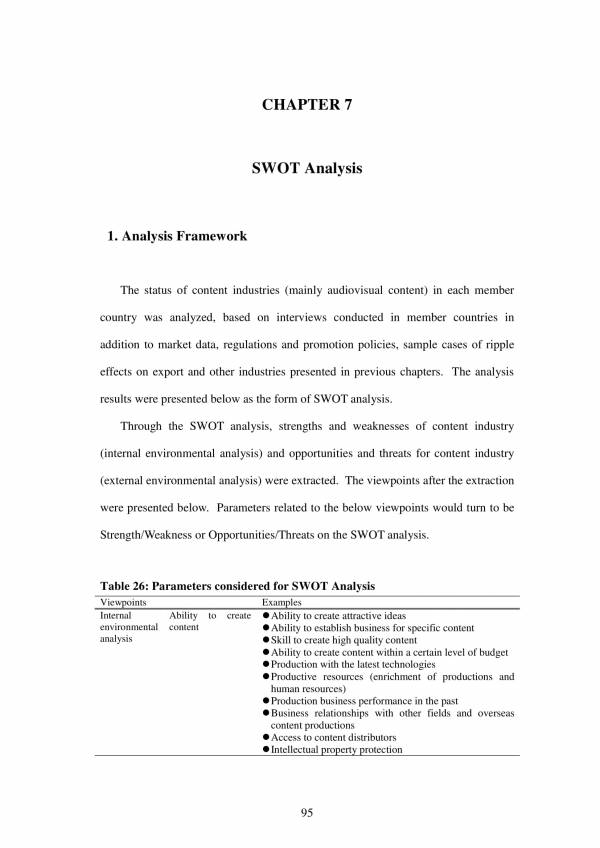 human resource swot analysis example 02