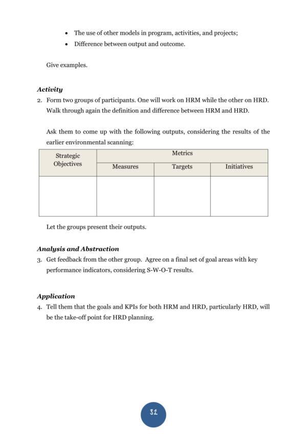 printable hr swot analysis 036