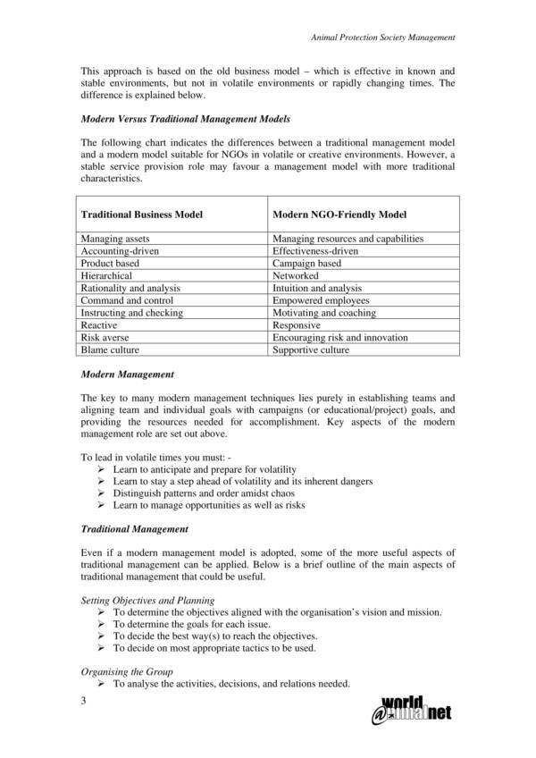 project time management operational plan 03