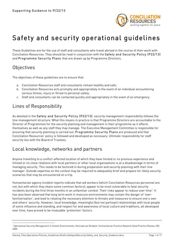 safety security operational plan 01