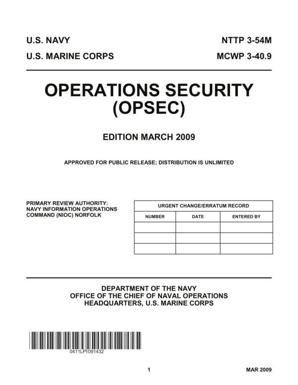 us navy and marine operations security 001