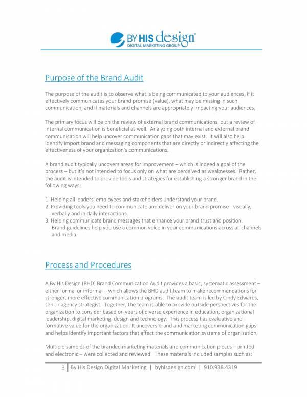 county schools brand audit report 04