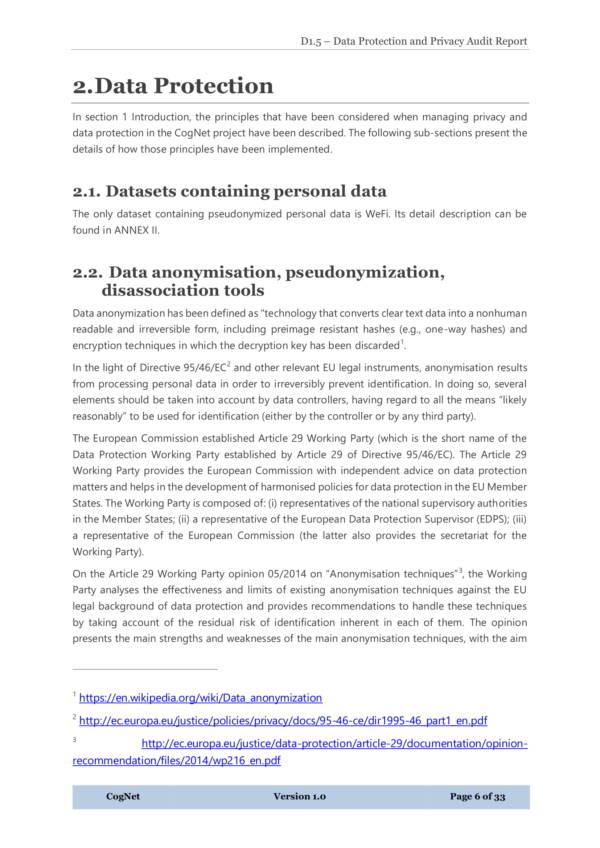data protection and privacy audit report template 06