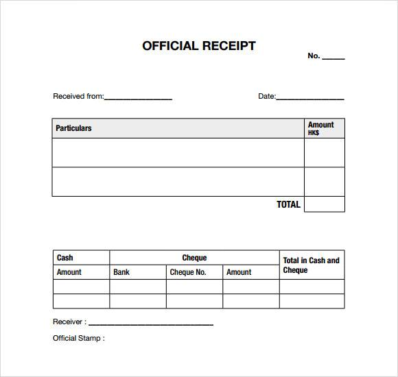 free 11  medical bill receipt template in pdf
