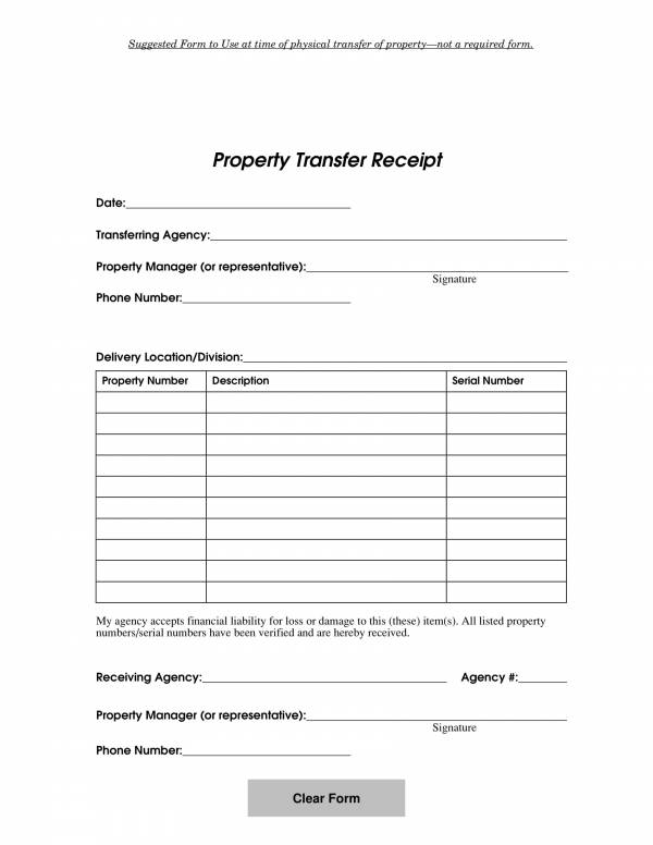 propertytransfer receipt template 1