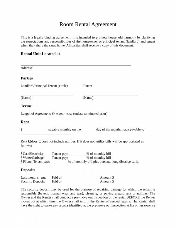 free 29  rental agreement formats in pdf