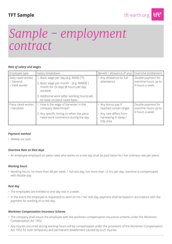 sample compensation agreement template 2