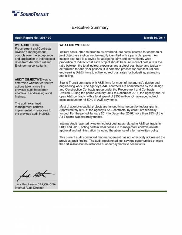 sample engineering internal audit report 02