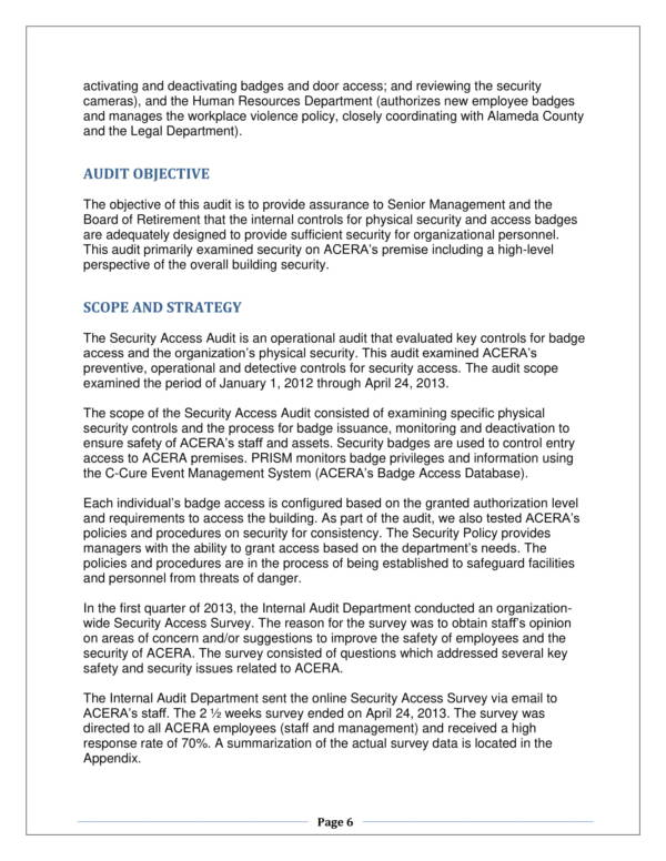 security access audit report sample 07