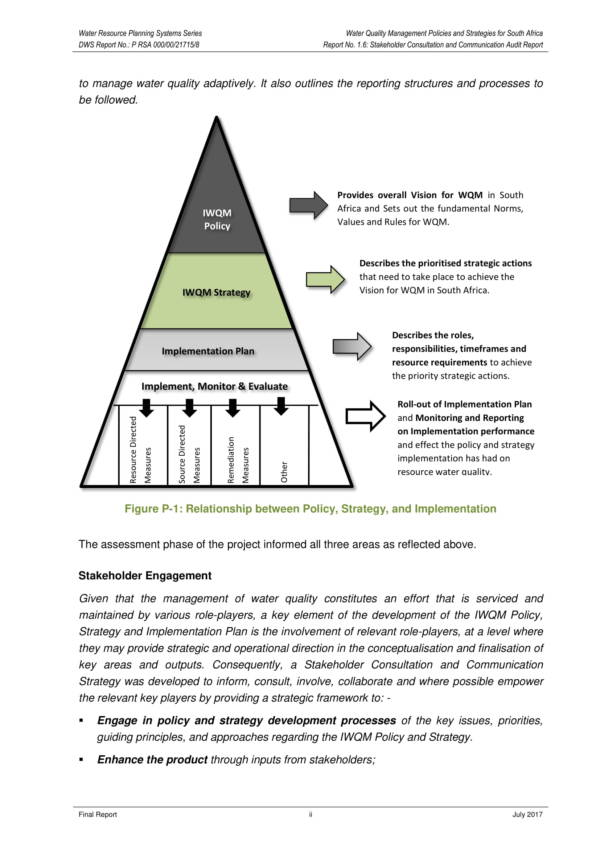 stakeholder engagement and communication audit report 008