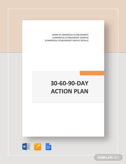 20 Sample 30 60 90 Day Plan Templates In Google Docs Ms