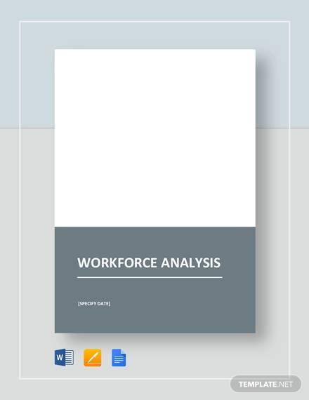 workforce analysis template