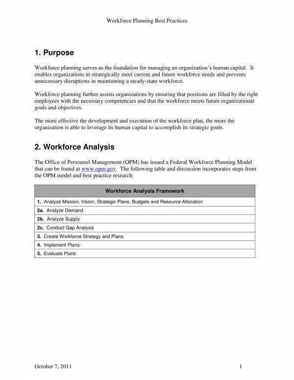 workforce planning best practices 3
