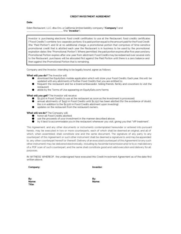 2500 investment agreement page 002