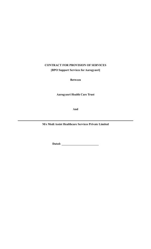 bpo contract agreement template 01
