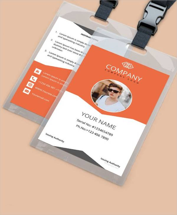 64+ Amazing ID Card Templates To Download