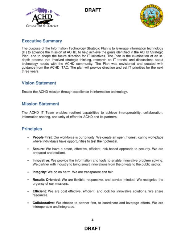 information technology strategic plan sample 04