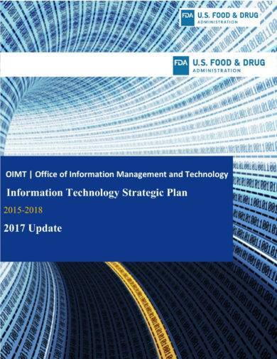 information technology strategic plan for operations
