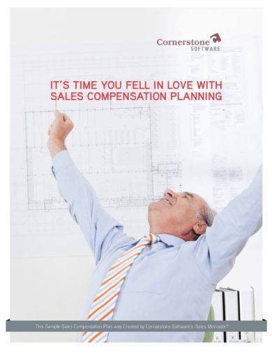 sales compensation planning template design