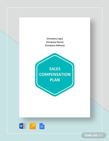 sample sales compensation plan