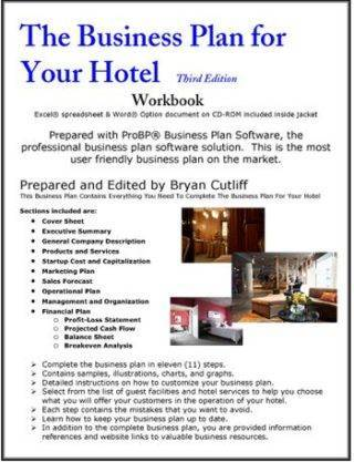 the business plan for your hotel
